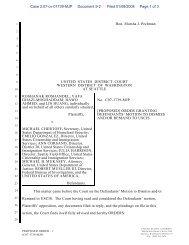 Pleading Paper - ACLU of Washington