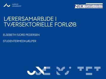 Tværsektorielt samarbejde mellem VUC og AMU v - NCK - Aarhus ...
