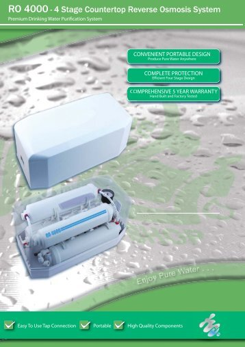 RO 4000 A4_4stage_countertop.pdf - Water Filters Townsville ...