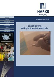 Workshops 2012 - HARKE Group