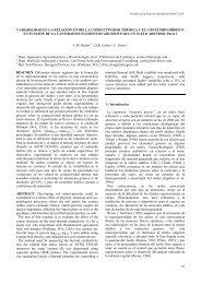 variabilidad en la relación entre la conductividad térmica y el ...