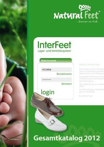 Natural Feet Katalog 2012