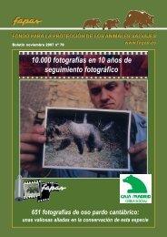 Boletín monográfico sobre el proyecto - Fapas