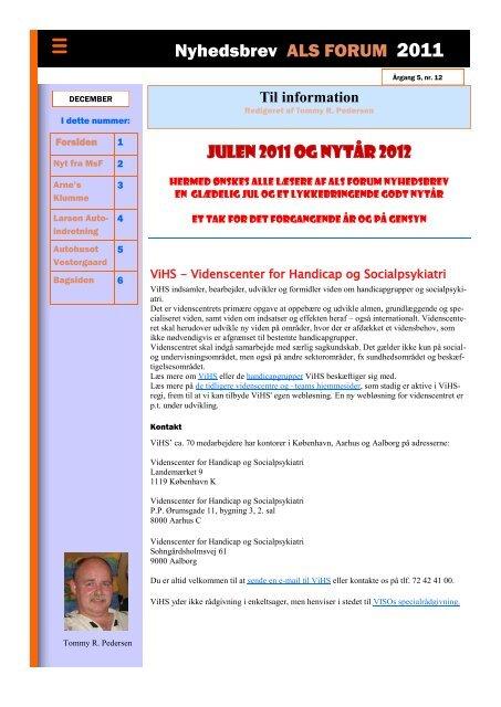 december 2011 - ALS Gruppen Vestjylland