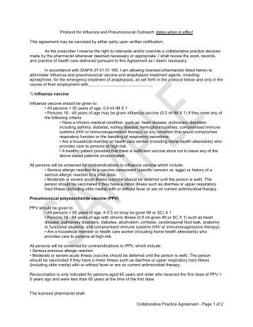 Collaborative practice prescribing agreement template for Collaboration contract template