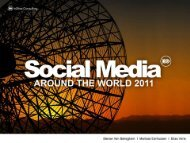 social media around the world 2011 - InSites Consulting