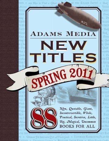spring 2011 - F+W Media