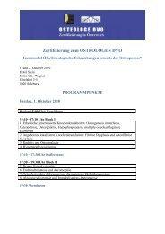 Vorprogramm DVO III Salzburg