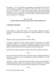 Na podlagi 3., 4., in 7. člena Zakona o gospodarskih javnih službah ...