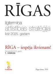 Rīgas ilgtermiņa attīstības stratēģija līdz 2025. gadam