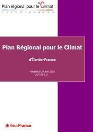 Document cadre - Île-de-France