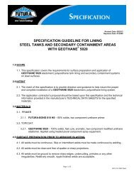 Steel Specification - ITW Futura Coatings