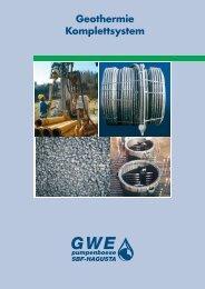 Komplettprogramm für Brunnenbau und Geothermie