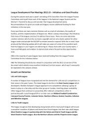 League Development Plan Meetings 2012-13 - The Football ...