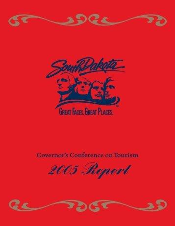 2005 Report - South Dakota Department of Tourism