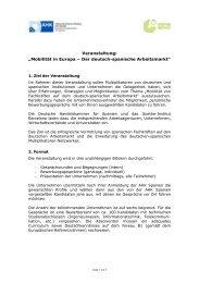 Mobilität in Europa – Der deutsch-spanische ... - AHK Spanien