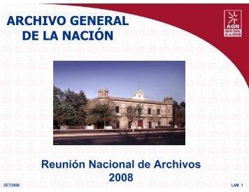 rahmex - Archivo General de la Nación