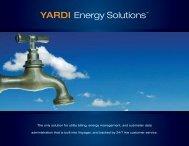 YARDI Energy Solutions™ - Yardi Systems UK