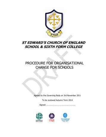 st edward's church of england school & sixth form college