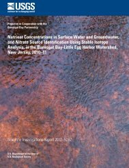 Nutrient Concentrations in Surface Water and Groundwater, and ...