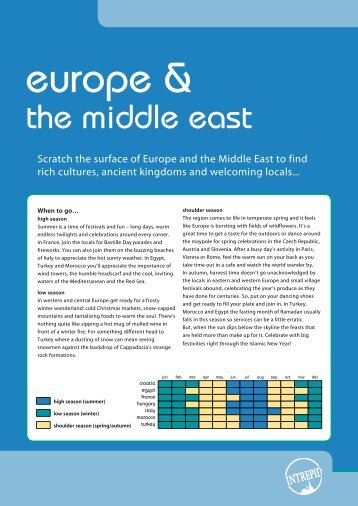 the middle east - Intrepid Travel