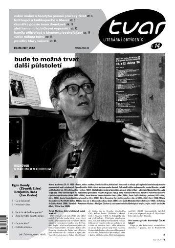 Tvar 14/2007