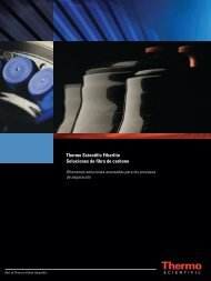 rotores Fiberlite - Thermo Scientific