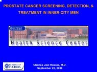 prostate cancer screening and detection in inner-city men