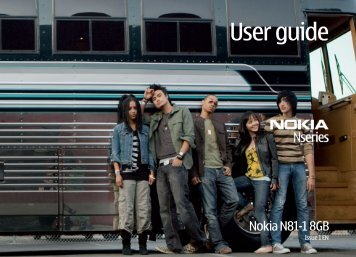 User guide - Nokia