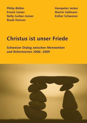 Christus ist unser Friede.pdf - Reformierte Kirche Kanton Zürich