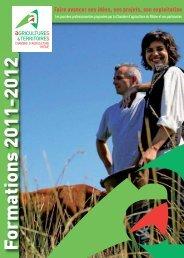 Formation - Chambres d'Agriculture de Rhône-Alpes