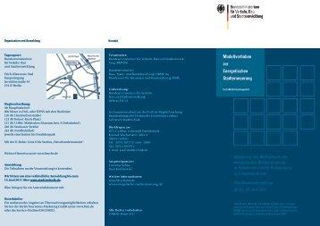 Modellvorhaben zur Energetischen Stadterneuerung - Lehrstuhl ...