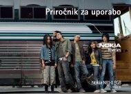 Priročnik za uporabo - Nokia