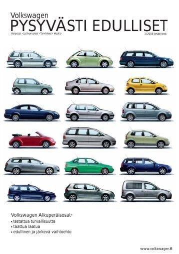 PYSYVÄSTI EDULLISET - Volkswagen