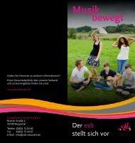 esb-Flyer zum Download - Evangelischer Sängerbund eV