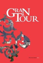 Programma Gran Tour 2012 - Piemonte Italia