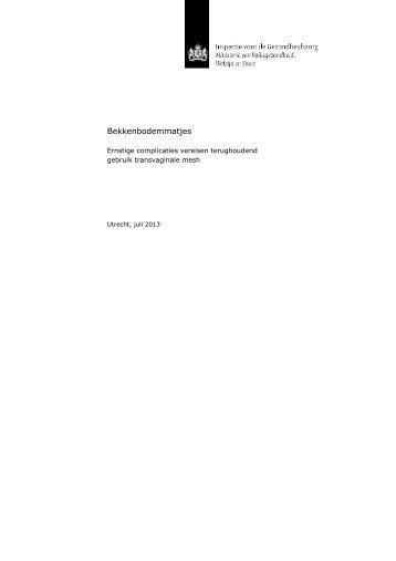Bekkenbodemmatjes_ Ernstige complicaties vereisen terughoudend gebruik transvaginale mesh_tcm294-360255