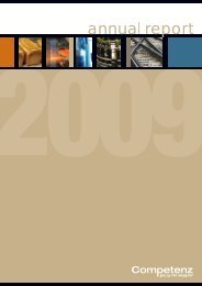 to read the full annual report - Competenz