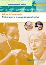 Igiene del cavo orale - Evidence Based Nursing