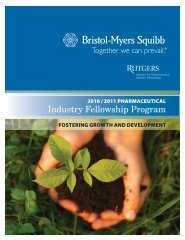 Industry Fellowship Program - Bristol-Myers Squibb