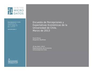 Encuesta de Percepciones y Expectativas Económicas de la ...