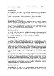 [pdf] Ausschreitungen nach dem Schanzenfest - Politikschmiede