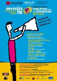 DP Odyssées 78 pour pdf - Theatre-contemporain.net
