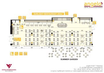 Dowload a banquet area floorplan - Vienna International Hotels ...