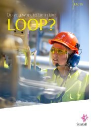 LOOP fact sheet - Statoil Innovate