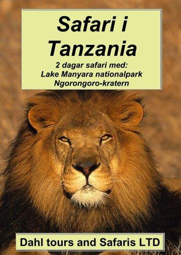 Safari Ngorongorokratern, 2 dagar safariresa - Dahl Safaris