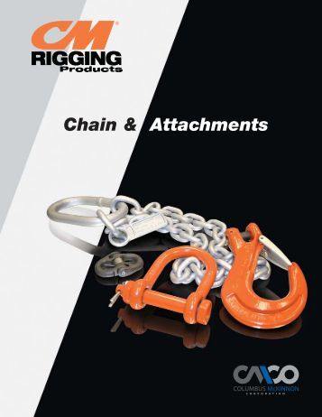 Chain & Attachments - Columbus McKinnon Corporation