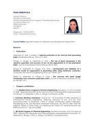 ROSA MEDIAVILLA - Universidad de Cantabria