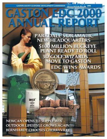 2000 EDC ANNUAL REPORT - Gaston County Economic ...