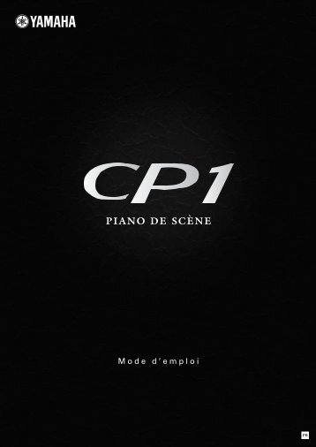 CP1 Owner's Manual - Univers-sons.com